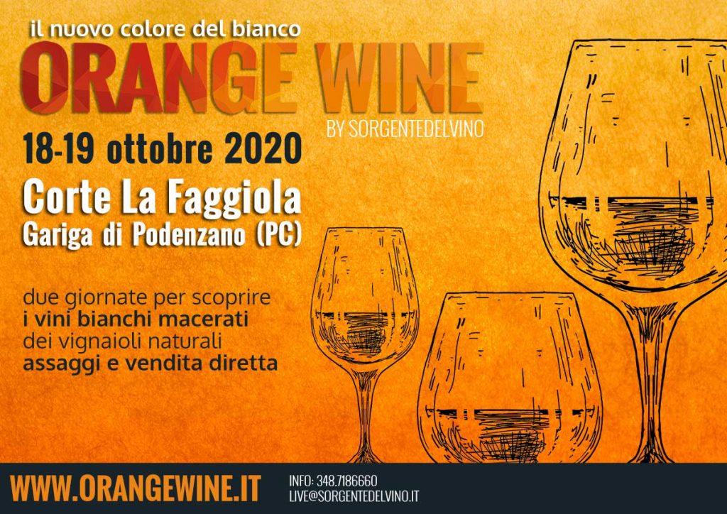 Orange Wine Festival 2020 Piacenza